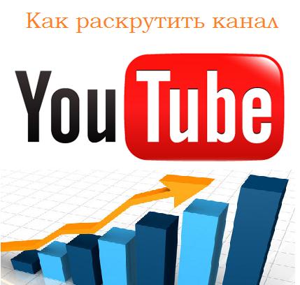 Раскрутка канала на youtube
